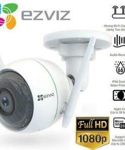 Camera Ip Wifi 2mp Ezviz C3wn 2.0mps